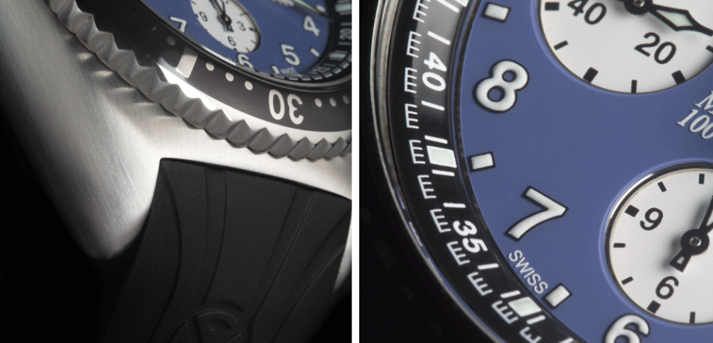 Franck Muller Master Diving Blue | © Paulo Pires/Espiral do Tempo